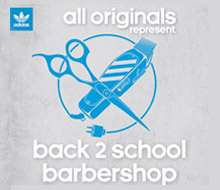 Adidas Back 2 School Barbershop Event