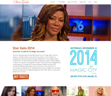 Star Gala 2014 Event – (Website Design)