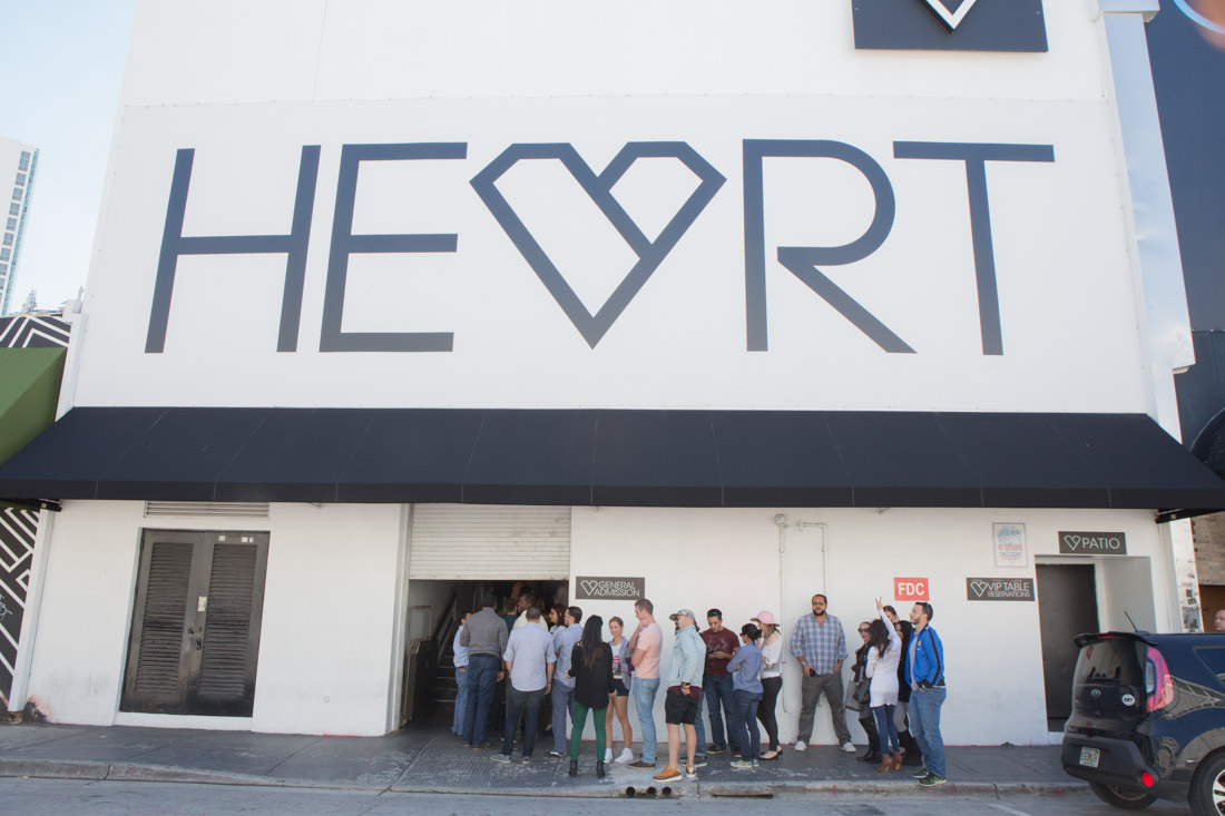 Heart Nightclub - Outside Shot